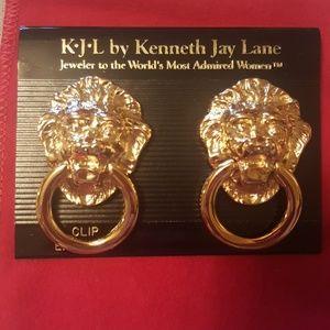 Kenneth Jay Lane Simi Valley clip earrings